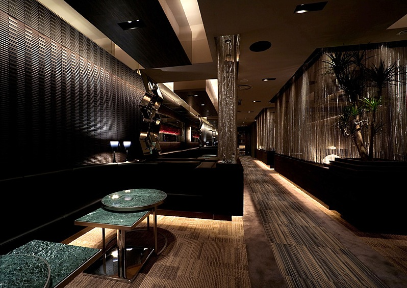 Inax Tiling In A Bar Interior Design Ideas