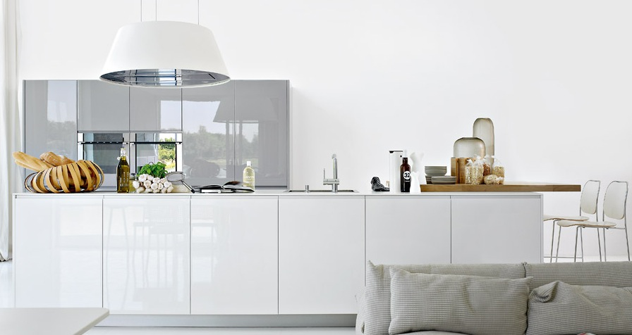 Modern White Kitchen Design modern kitchens from elmar cucine