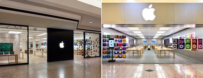 The Apple Store Fashion Mall