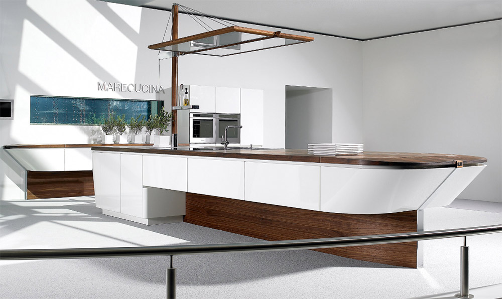 Kitchens from alno for Modern german kitchen designs