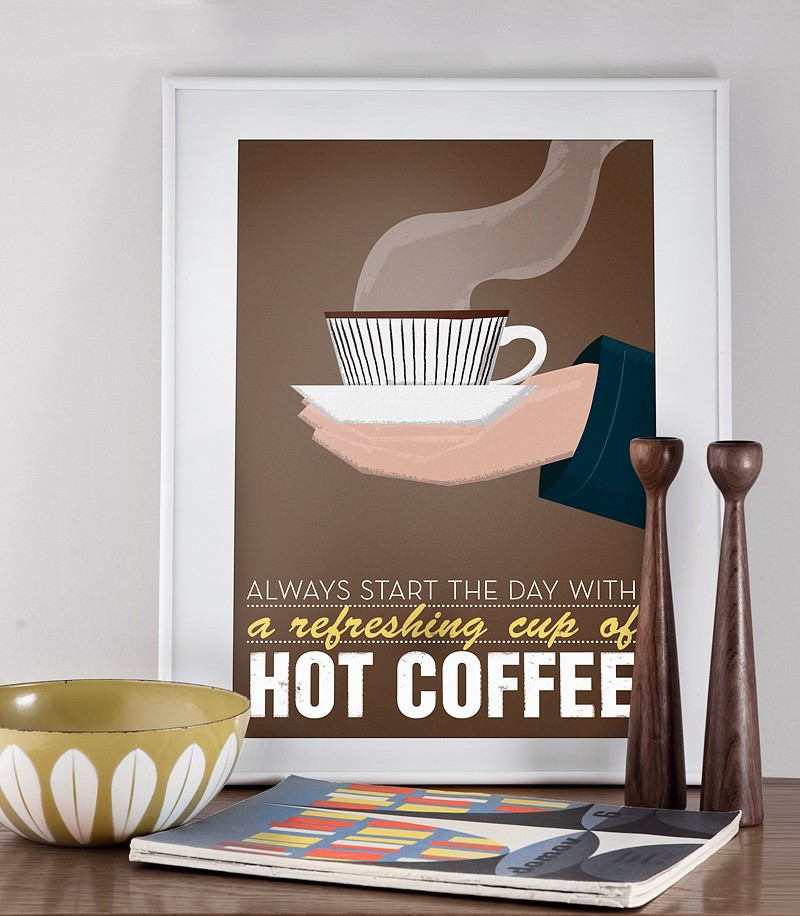 High Quality Coffee Poster