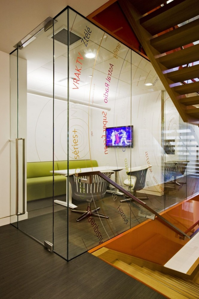 cool office lounge