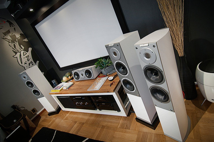 home audio setup | Interior Design Ideas.