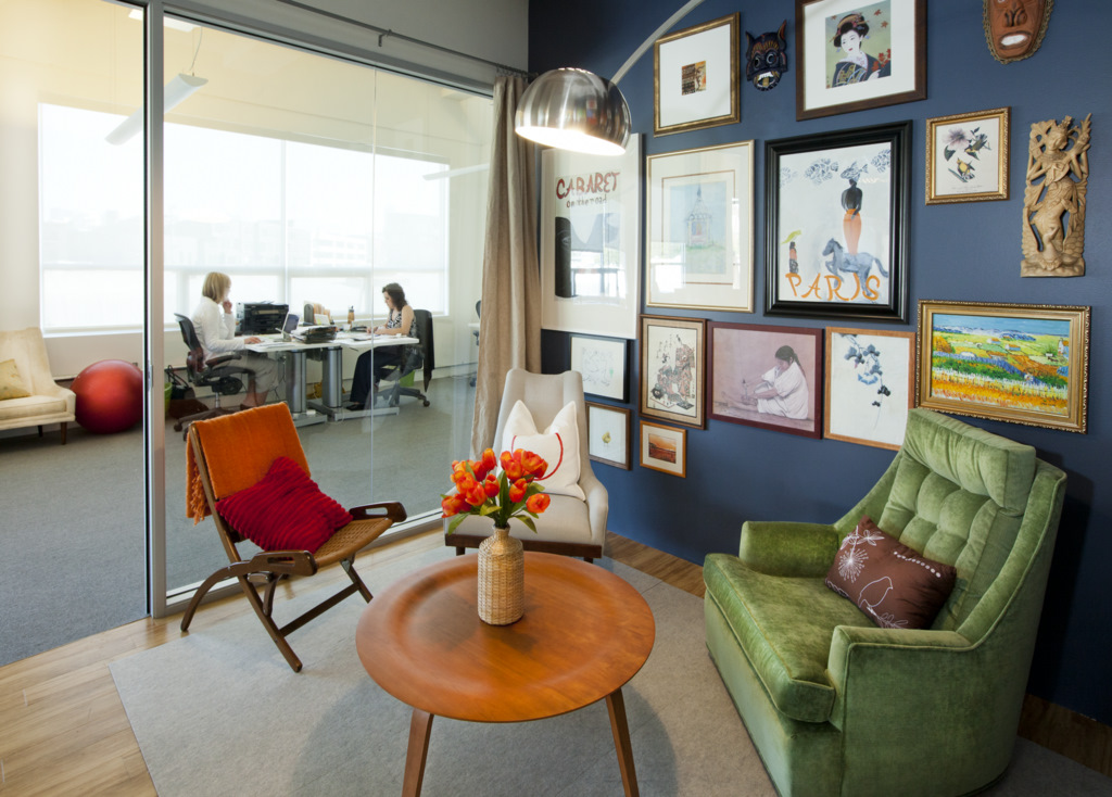 Airbnbs beautiful offices