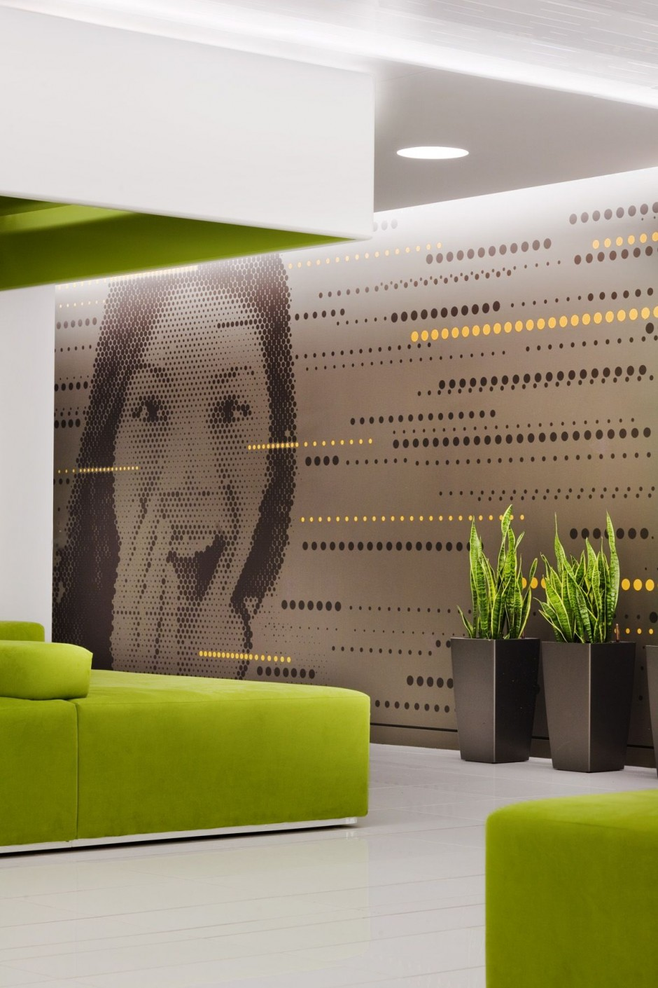 Beautiful office interiors of a canadian media company Art for office walls