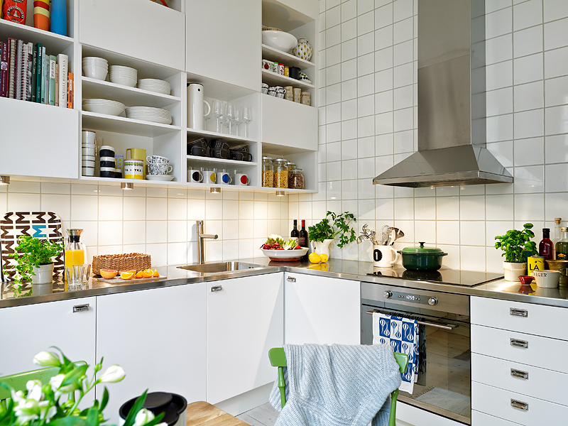 Scandinavian Kitchen Design Ideas ~ A scandinavian beauty