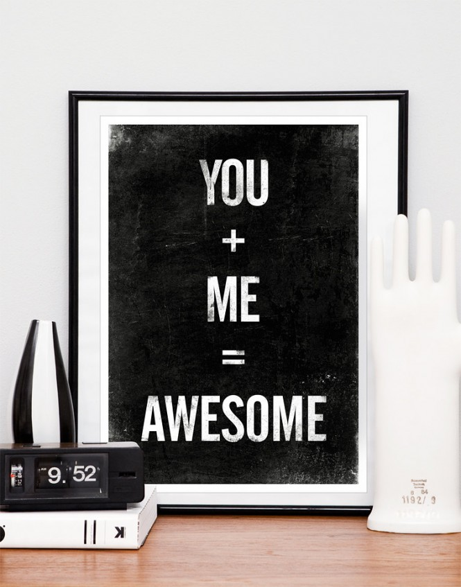 you and me posters