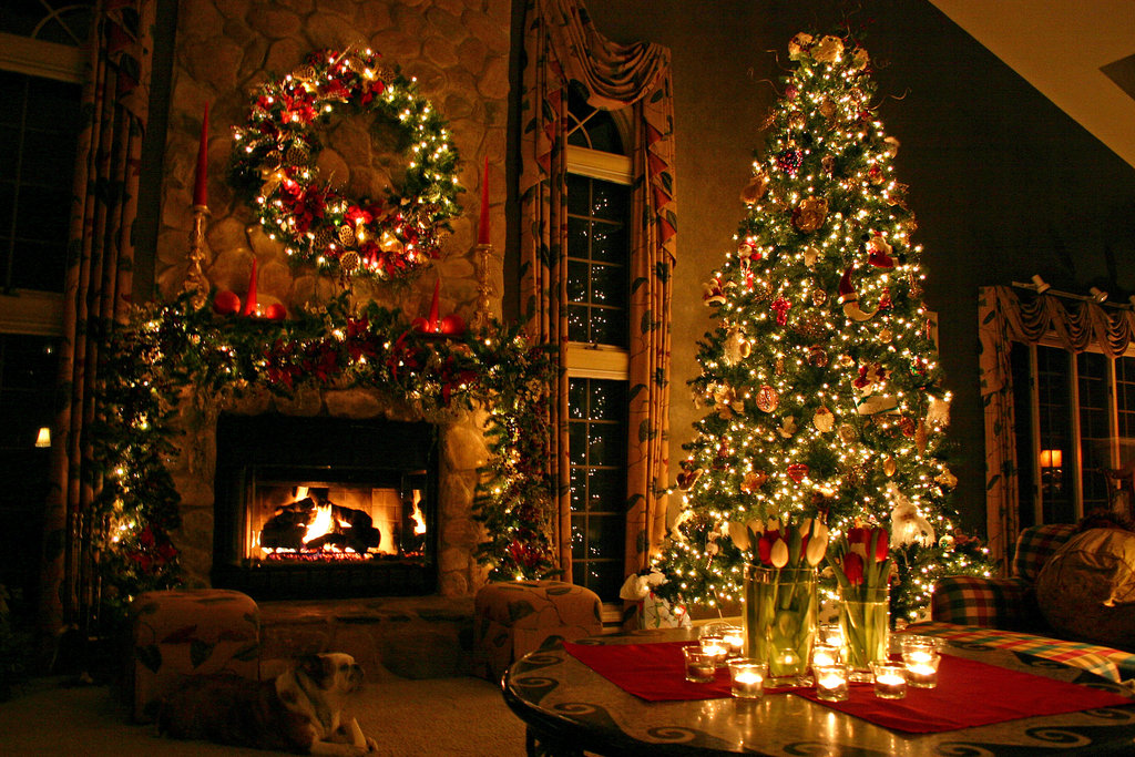 Homes Decorated For Christmas On The Inside christmas home decor items - home decor