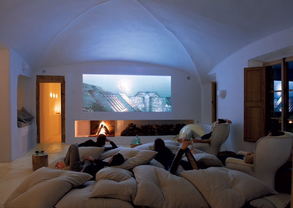 Cave Home Theatre Room