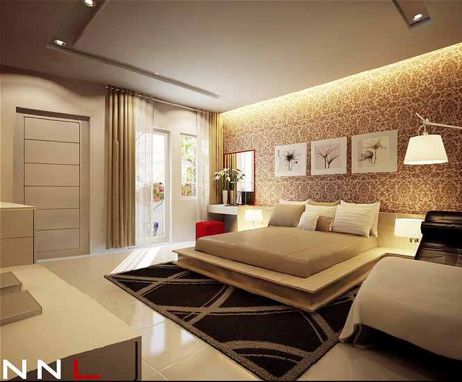 Dream home interiors by open design for Dream bedroom designs