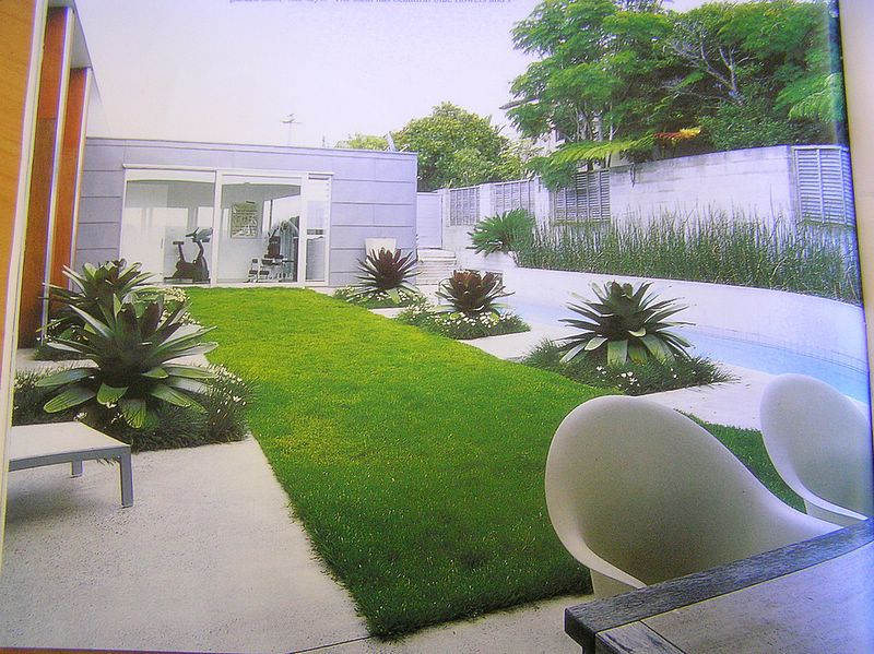 Backyard designs for Small narrow garden designs