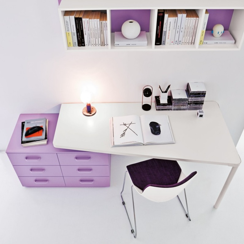 Kids Study Table Design White Desk 795 x 795