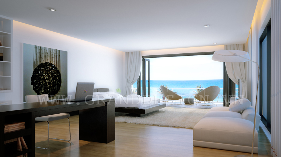 sea view bedroom interior design ideas