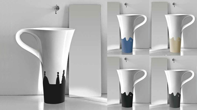 Silhouette design basins