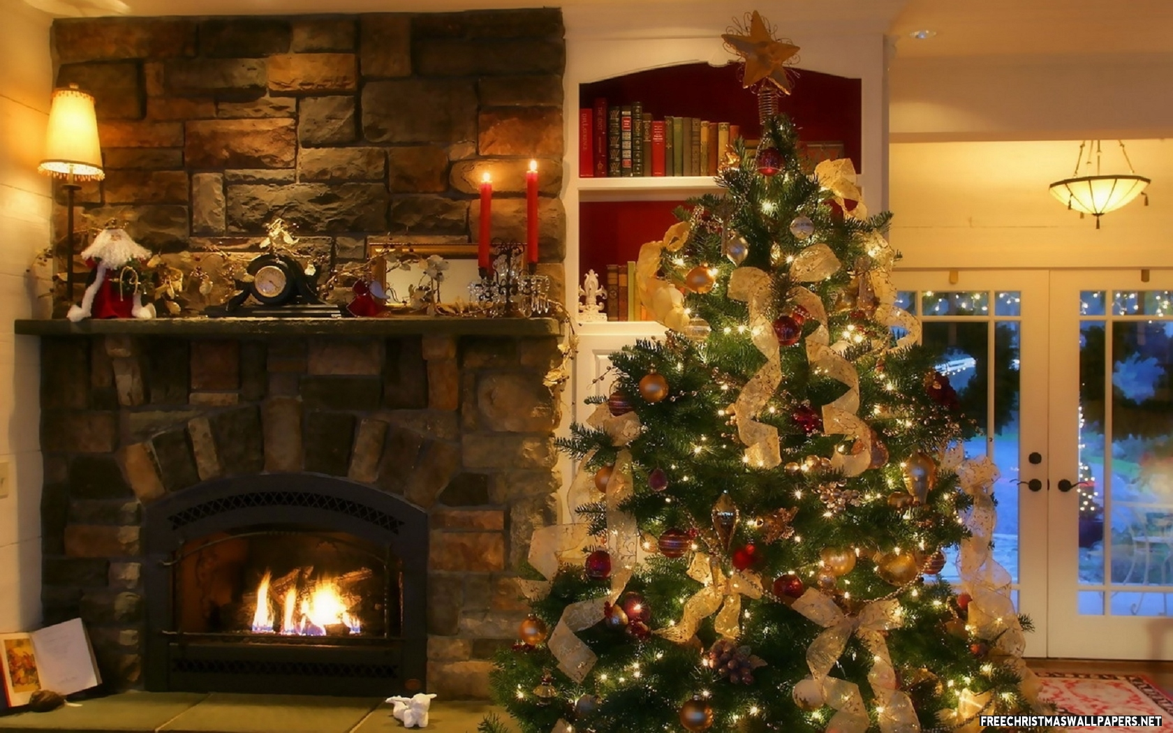 Christmas decorated rooms - Like Architecture Interior Design Follow Us