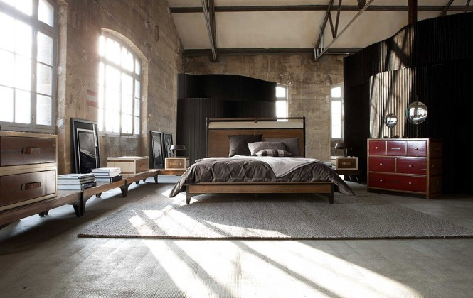 Utilitarian Bedroom Furniture