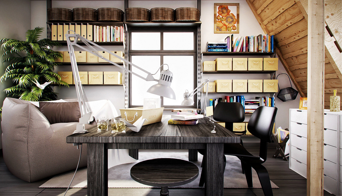 Creative Workspaces Beauteous Creative Ideas Home Office Furniture Model Design
