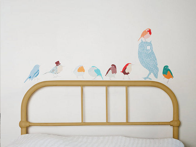 bird wall stickers
