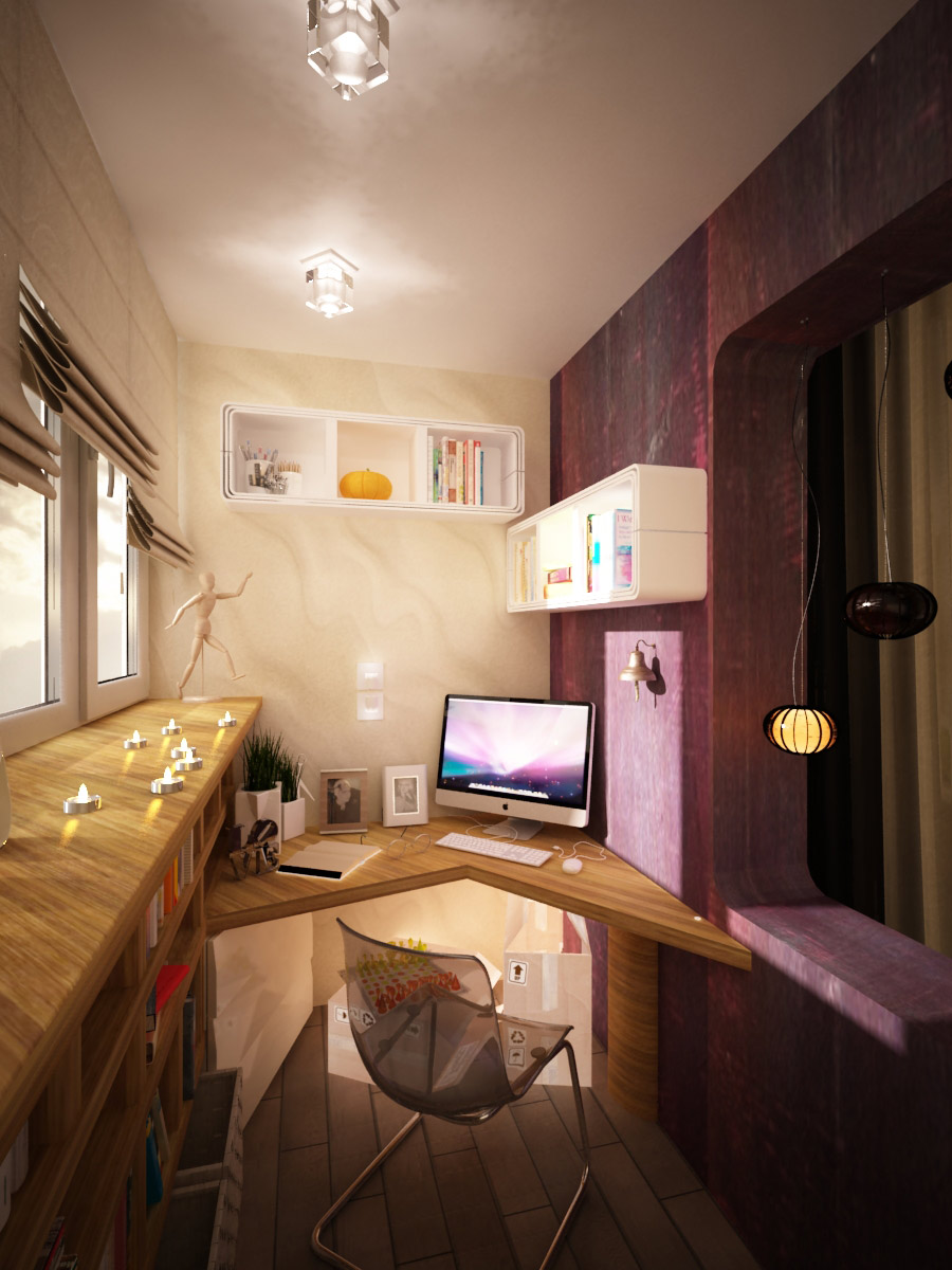 Creative workspaces for Creative home office