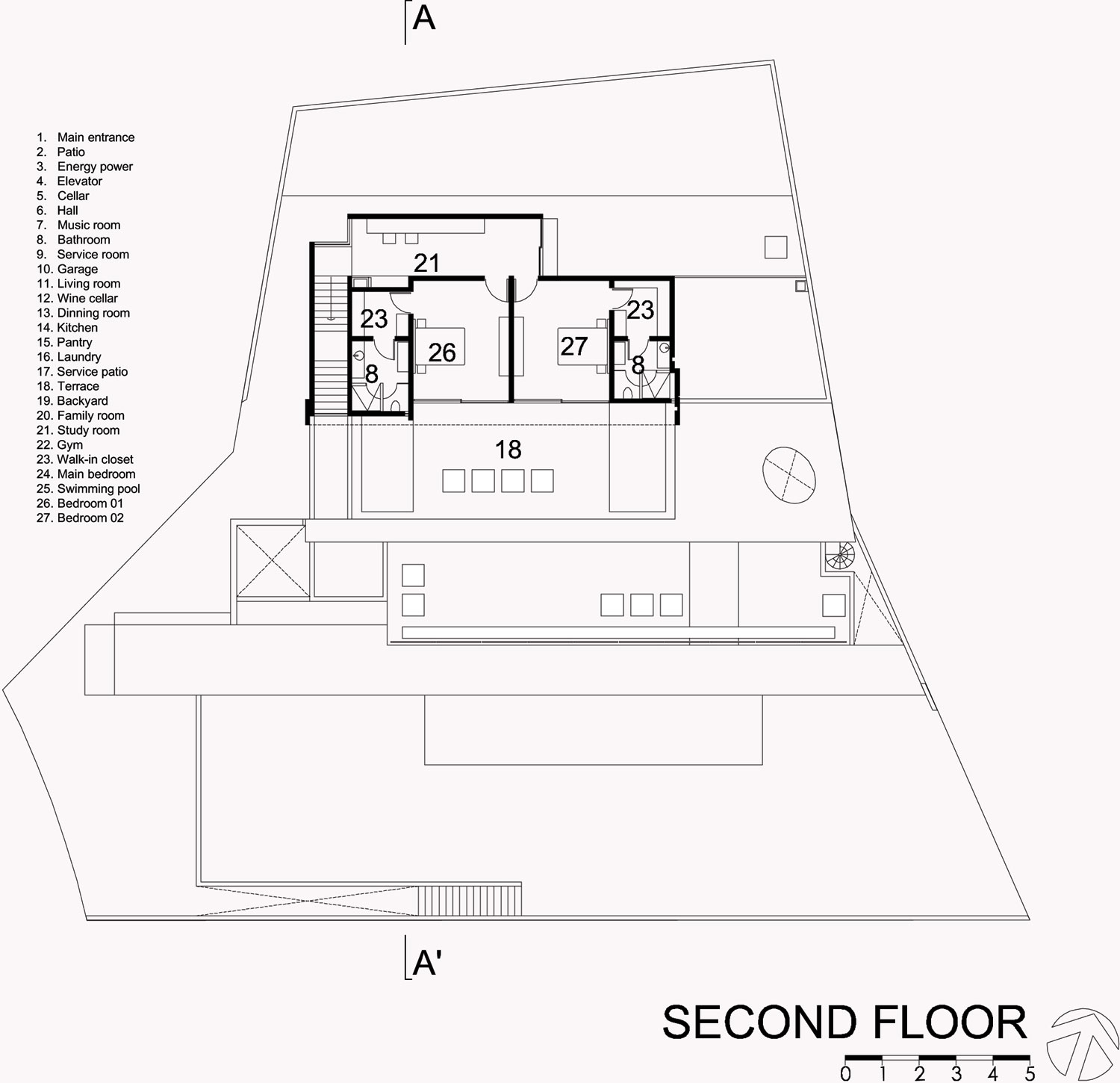 House Plans In Mexico House Interior