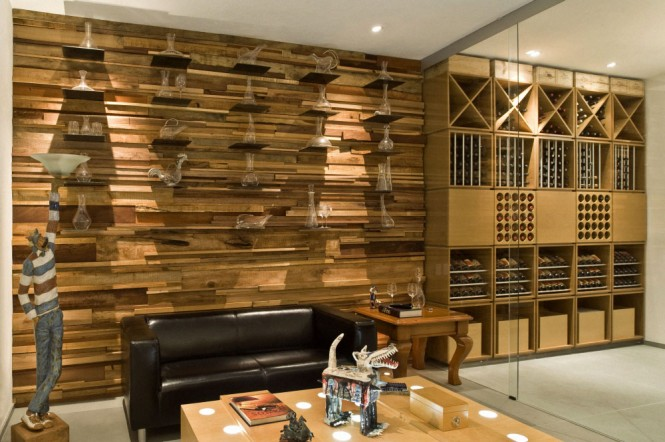 mountain house wine cellar