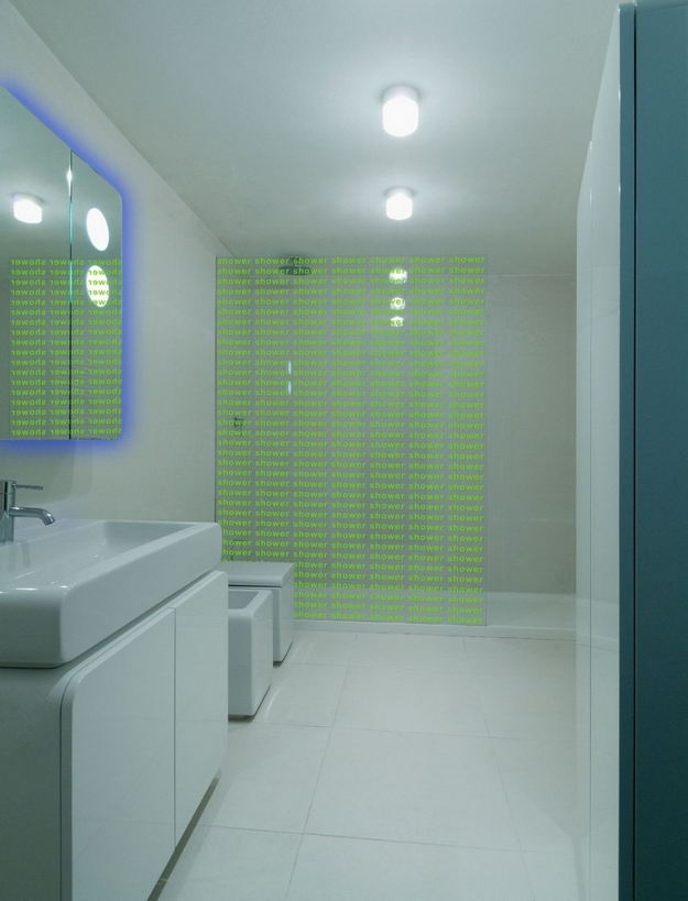 Neon Wet Room Interior Design Ideas