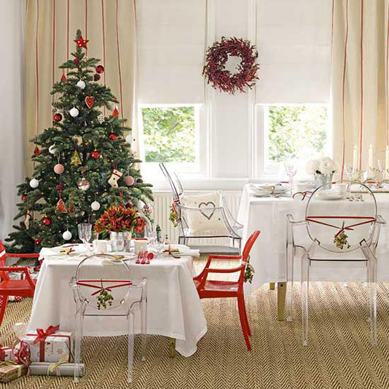 Decorating tips for a modern merry christmas for Decoration interne