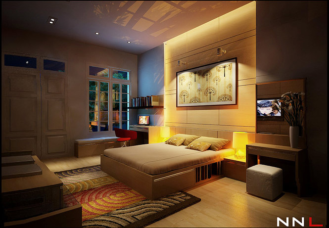 Dream home interiors by open design House model interior design