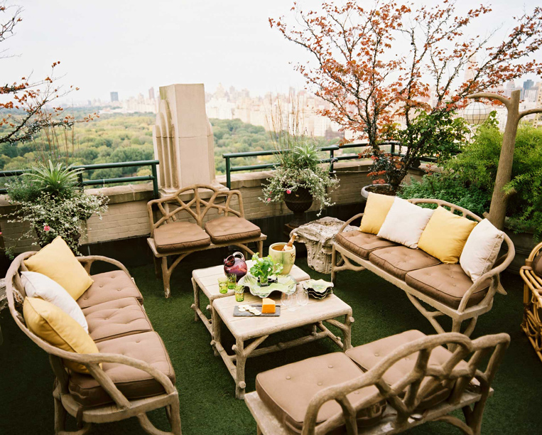 Sun terrace interior design ideas for Terrace interior design ideas