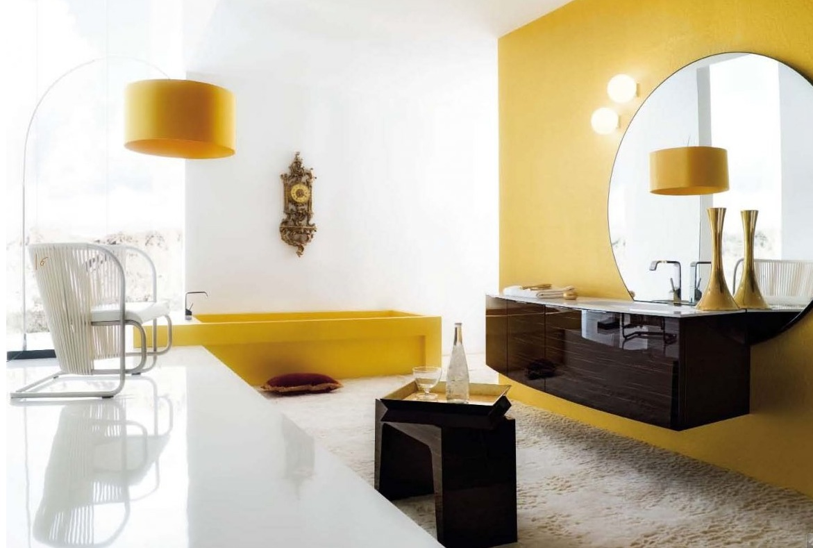 Modern Black House Bright Accents Yellow Room Interior Inspiration 55 Rooms For Your Viewing Pleasure
