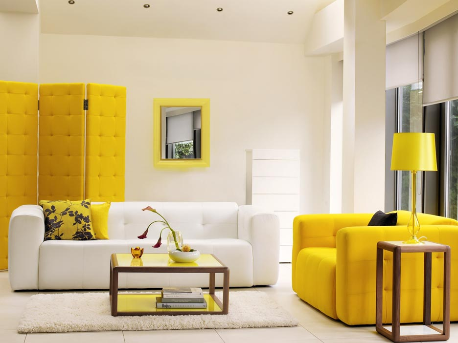 Modern Furniture Colors yellow room interior inspiration: 55+ rooms for your viewing pleasure