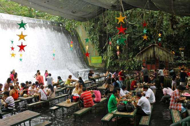 Escudero Waterfall Restaurant