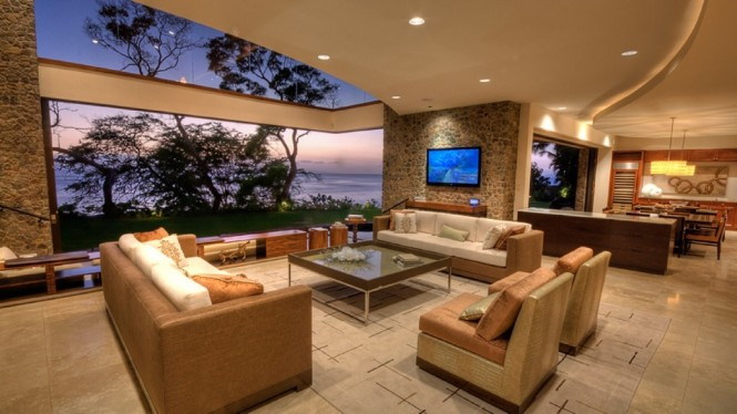 Hawaiian sitting room