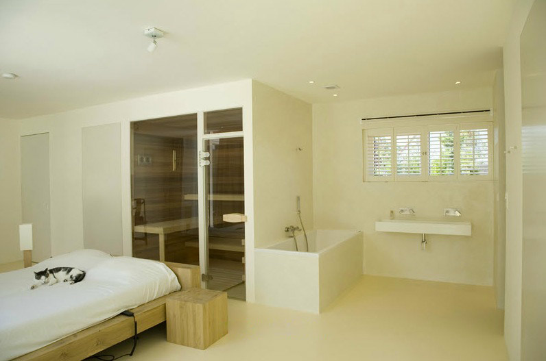 bedroom ensuite steam room interior design ideas