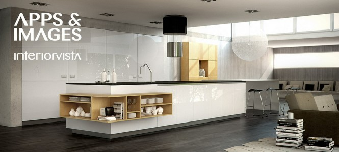 white yellow kitchen