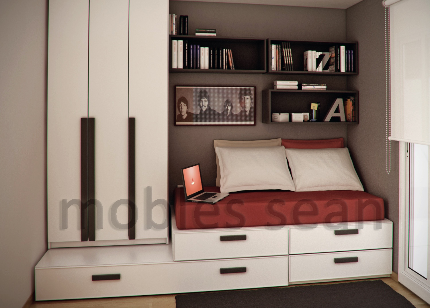 Simple bedroom design for boys - Simple Bedroom Design For Boys 53