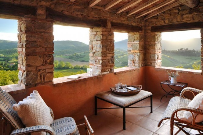 Castello di Reschio is ideally situated to revel in the beauty of Umbria.