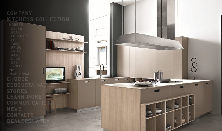 Modern kitchens from cesar for Modern cabinets