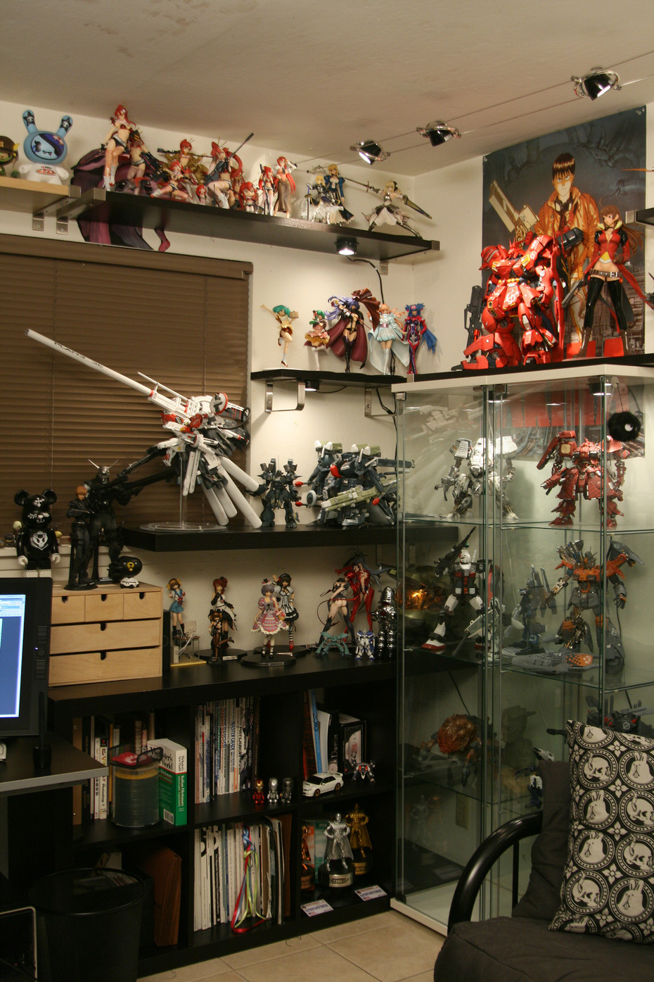 figurine collector cabinet | Interior Design Ideas.