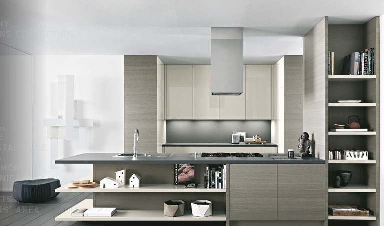 Modern kitchens from cesar for New kitchen designs 2012