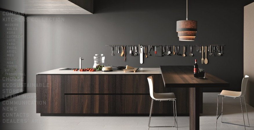 Modern kitchens from cesar Kitchen designs with islands modern