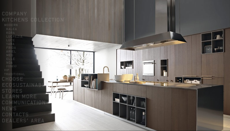 Modern kitchens from cesar for Modern large kitchen design