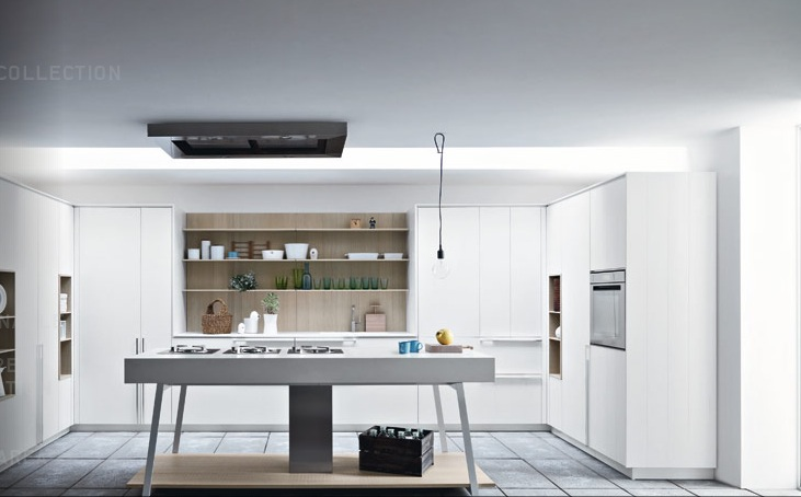 Modern kitchens from cesar for Kitchen designs modern white