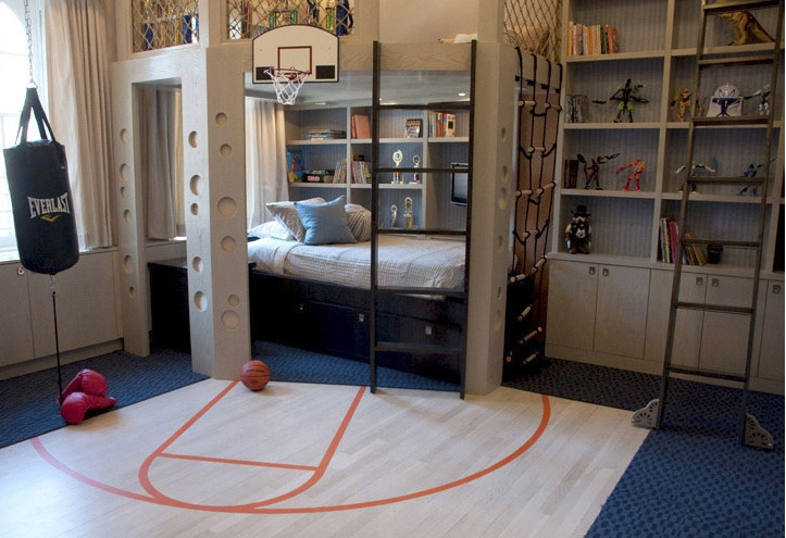 Kids rooms climbing walls and contemporary schemes - Cool teen boy bedroom ideas ...