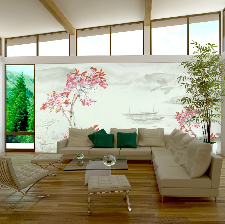 Exquisite wall coverings from china for Japanese home decorations