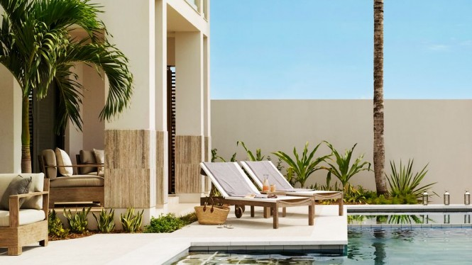 Caribbean aesthetic the viceroy anguilla offers idyllic residences complete with a private infinity pool an interior filled with marbled floors