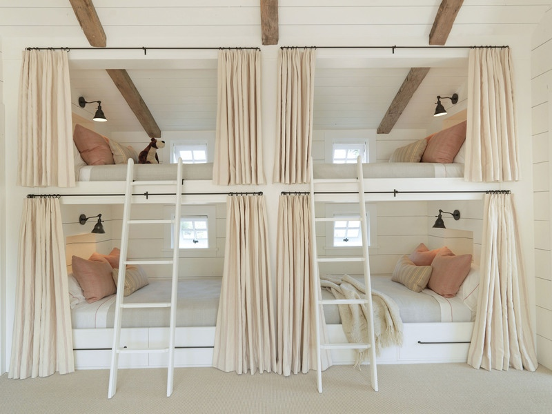 Built in Bunk Bed Designs 800 x 600