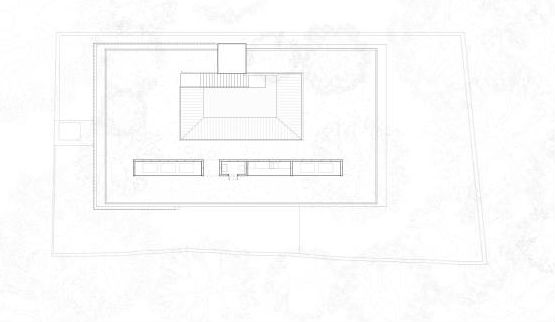 Courtyard house floor plan 05