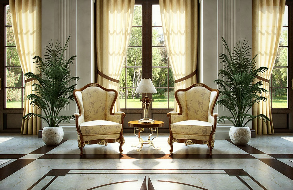 Dreamy spaces rendered by muhammad taher for Classic design interior