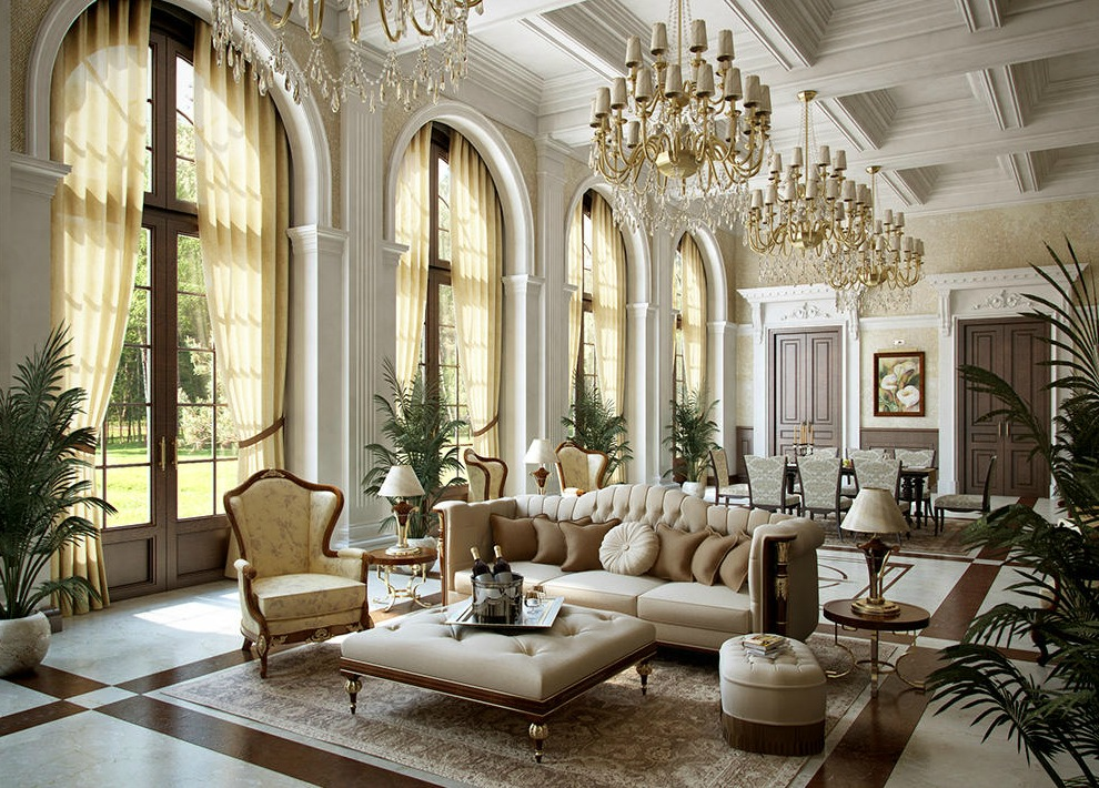Dreamy spaces rendered by muhammad taher for Grand home designs